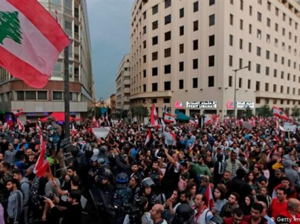 Lebanon: Peaceful protests in Beirut met with massive repression by authorities